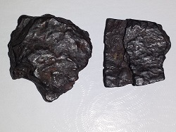 2 Pieces of Nantan Meteorites