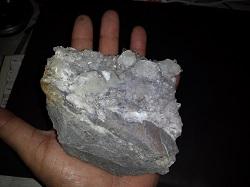 Quartz Crystals with Dolomite