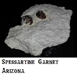 Spessartine Garnet specimen