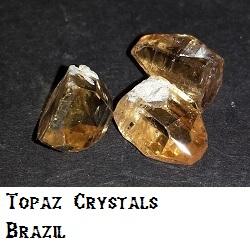 Topaz Crystals