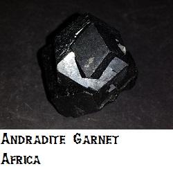 Garnet specimen