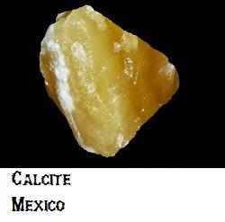 Yellow Calcite specimen