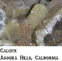 Calcite specimen