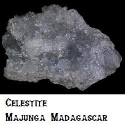Celestite specimen
