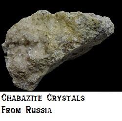 Chabazite specimen