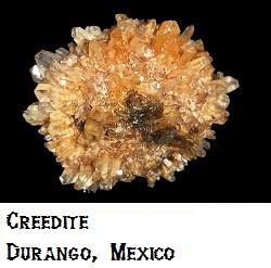 Creedite specimen