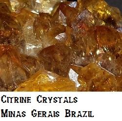 Citrine specimen