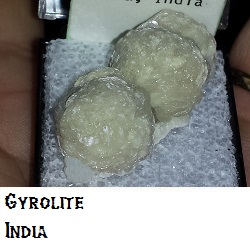 Gyrolite specimen