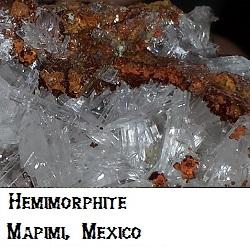 Hemimorphite Crystals specimen