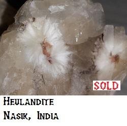 Heulandite Crystals