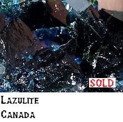 Lazulite Crystals