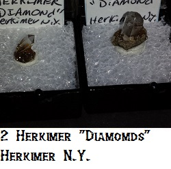 Herkimer Diamond Quartz specimen