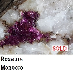Roselite and Wendwilsonite