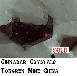 Cinnabar specimen
